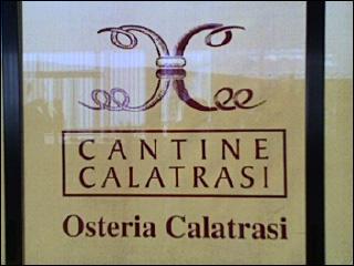 Cantine Calatrasi, il ristorante